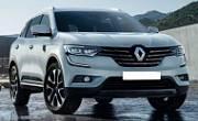 Комплект накладок на дверные пороги (нержавеющая сталь, карбон, надпись) Alu-Frost 29-1384 для Renault Koleos 2017 -