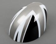 Накладка на боковое зеркало правая Black Jack Mini 51142352628 для Mini Cooper 2015 -