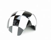 Накладка на боковое зеркало правая Checkered Gray Mini 51142348090 для Mini Cooper 2015 -