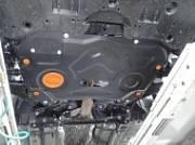 Защита картера (сталь, толщина 2 мм) Альфеко ALF24112st для Toyota Camry 2018 -