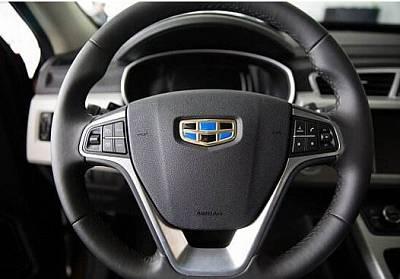 Кнопки управления на руле круиз контролем и магнитолой для Geely Atals 2018 -