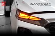 Передняя диодная LED оптика CSC для Санта Фе 4 (Hyundai Santa Fe 2018 - 2019)
