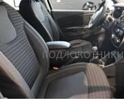 Подлокотник (черный, кожа) Опора России PDL-00102 для Renault Kaptur 2016 -
