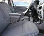 Подлокотник (черный, кожа) Опора России 0057 для Lada Largus