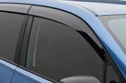 Дефлекторы боковых окон без хрома, оригинальные для Subaru Forester 2018 - 2019