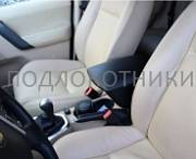 Подлокотник (черный, кожа) Опора России 0059 для Land Rover Freelender II (2006-2012)