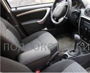 Подлокотник (черный, кожа) Опора России 0040 для Nissan Terrano 2014 -