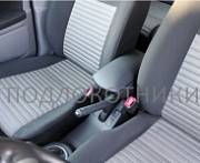Подлокотник (черный, кожа) Опора России 0152 для Suzuki Vitara 20116 -