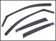 """Дефлекторы """"ClimAir"""" для окон для Mercedes-Benz GLC-Класс 204X (X253) GLW 5 2015-2018"""