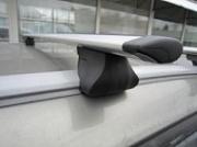 "Багажник на рейлинги ""Integra"" (Аэро-крыло дуги) для KIA Sportage 2018 - 2019"