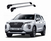 Багажные дуги на крышу KHOTO для Hyundai Palisade (Хендай Полисад) 2019 +