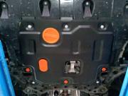 : Защита картера двигателя и кпп стальная ALFECO  для KIA Cerato (2018 - 2019) Alfeco