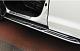 Пороги, боковые подножки Vision X6  для Geely Atlas 2018 -