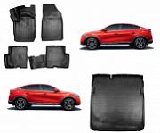 Коврики в салон и в багажник Норпласт полиуретан черный NPA11C69025 Renault Arkana 2019-