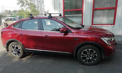 Багажник и Фаркоп  для Renault ARKANA (Рено Аркана)