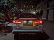 Спойлер крышки багажник со стоп сигналом SVS для KIA Optima 2016 - 2019