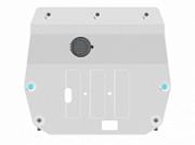 : Защита картера и кпп алюминиевая Motodor GAC GS8 2019 + Motodor