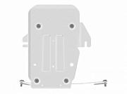 28.4498: Защита редуктора алюминиевая Motodor GAC GS8 2019 + Motodor