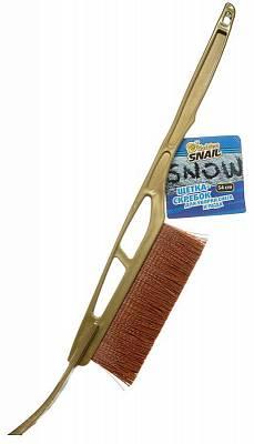 Щетка-скребок для уборки снега и льда, 54 см, с пластиковой ручкой Golden Snail GS 7002