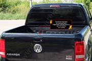 Комплект накладок на боковые борта и задний откидной борт Русская Артель Volkswagen Amarok 2010-