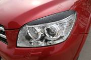 Накладки на передние фары (реснички) Русская Артель Toyota Rav4 2006-2010