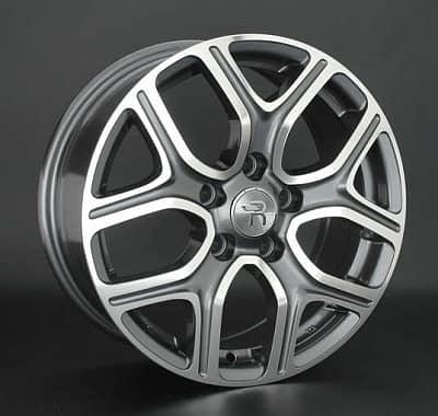 Диск колесный Replay MI108 7xR18 5x114,3 ET38 ЦО67,1 серый глянцевый с полированной лицевой частью 080748-160161004