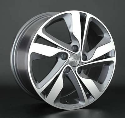 Диск колесный Replay HND157 7xR17 5x114,3 ET53 ЦО67,1 серый глянцевый с полированной лицевой частью 081232-160143004