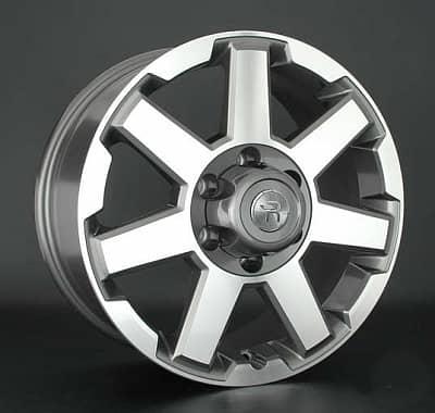 Диск колесный Replay TY176 7,5xR18 6x139,7 ET25 ЦО106,1 серый глянцевый с полированной лицевой частью 033460-070685018