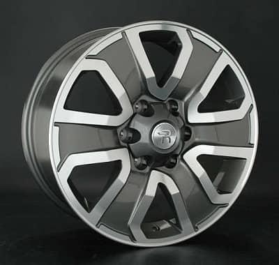 Диск колесный Replay TY188 7,5xR18 6x139,7 ET25 ЦО106,1 серый глянцевый с полированной лицевой частью 030866-070640007