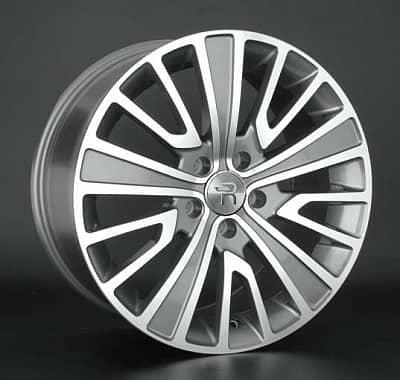 Диск колесный Replay B178 8,5xR19 5x120 ET38 ЦО72,6 серый глянцевый с полированной лицевой частью 029815-070023005