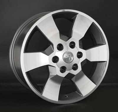 Диск колесный Replay LX85 7,5xR18 6x139,7 ET25 ЦО106,1 серый глянцевый с полированной лицевой частью 034891-070699007