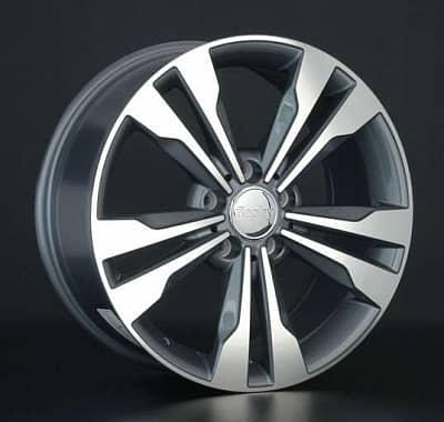 Диск колесный Replay MR131 8xR18 5x112 ET50 ЦО66,6 серый глянцевый с полированной лицевой частью 029917-070060011