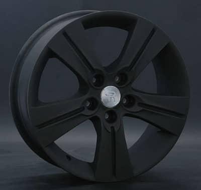 Диск колесный Replay KI36 6,5xR17 5x114,3 ET46 ЦО67,1 черный матовый 014845-040146018