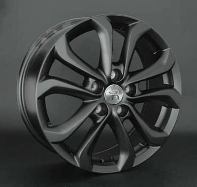 Диск колесный Replay MZ79 7xR17 5x114,3 ET50 ЦО67,1 черный матовый 030673-030119004