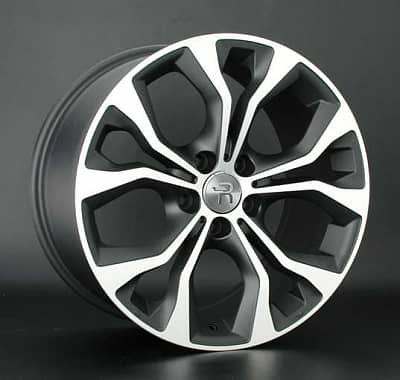 Диск колесный Replay B151 9xR19 5x120 ET48 ЦО74,1 черный матовый с полированной лицевой частью 029446-160023005