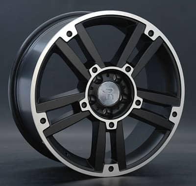 Диск колесный Replay MR81 8xR18 5x112 ET50 ЦО66,6 черный матовый с полированной лицевой частью 014704-050060011