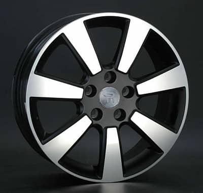Диск колесный Replay NS93 6,5xR17 5x114,3 ET40 ЦО66,1 черный матовый с полированной лицевой частью 019910-120006010