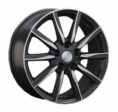 Диск колесный Replay TY48 7xR17 5x114,3 ET45 ЦО60,1 черный матовый с полированной лицевой частью 026889-070266007