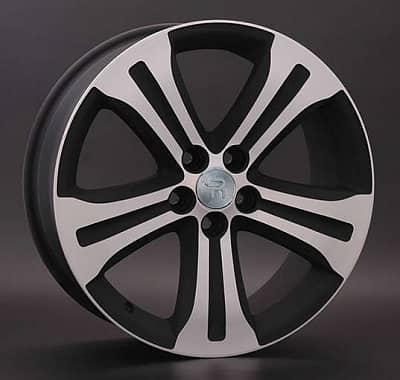 Диск колесный Replay TY71 7xR18 5x114,3 ET42 ЦО60,1 черный матовый с полированной лицевой частью 015013-160264007