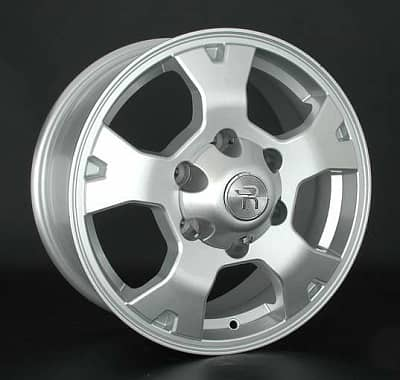 Диск колесный Replay TY191 7,5xR17 6x139,7 ET25 ЦО106,1 серебристый 032554-430674007