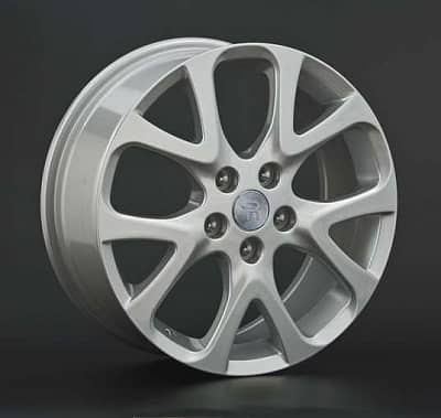 Диск колесный Replay MZ28 7,5xR18 5x114,3 ET60 ЦО67,1 серебристый 016207-430239004