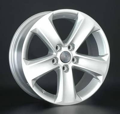Диск колесный Replay TY139 7xR17 5x114,3 ET39 ЦО60,1 серебристый 025100-430125004
