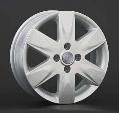 Диск колесный Replay NS43 5,5xR15 4x114,3 ET40 ЦО66,1 серебристый 005304-020067010