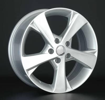 Диск колесный Replay TY152 7xR17 5x114,3 ET39 ЦО60,1 серебристый 027013-040125004