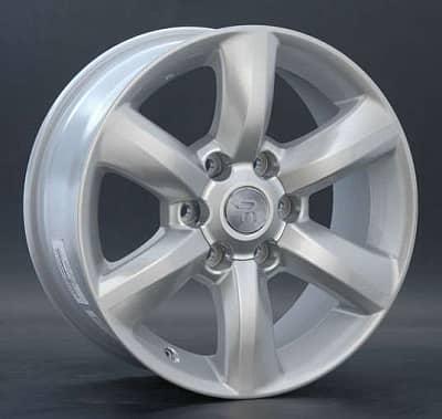 Диск колесный Replay TY64 7,5xR17 6x139,7 ET25 ЦО106,1 серебристый 013974-050668007