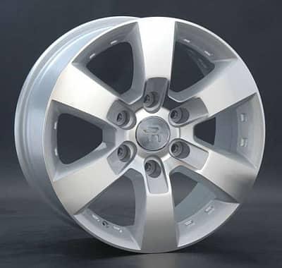 Диск колесный Replay TY83 7,5xR17 6x139,7 ET25 ЦО106,1 серебристый 017207-040264007