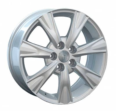 Диск колесный Replay TY82 7xR17 5x114,3 ET39 ЦО60,1 серебристый 014570-040125004