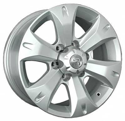 Диск колесный Replay LX80 7,5xR17 6x139,7 ET25 ЦО106,1 серебристый 034885-070687007