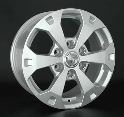 Диск колесный Replay MI106 7,5xR17 6x139,7 ET38 ЦО67,1 серебристый 031740-070225007