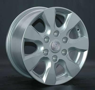 Диск колесный Replay MI40 7xR16 6x139,7 ET38 ЦО67,1 серебристый 022896-030225007